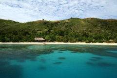 Turkooise blauwe oceaan stock foto