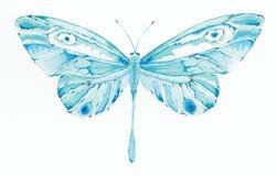 Turkooise en blauwe fantasie maar Royalty-vrije Illustratie