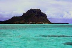 Turkooise lagune royalty-vrije stock afbeelding