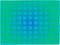 Turkooise vierkanten Stock Afbeelding