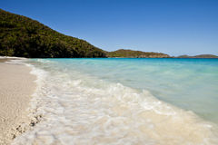 Turkooise wateren van de Caraïben, st john Stock Fotografie