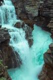 Turkooise waterval royalty-vrije stock foto