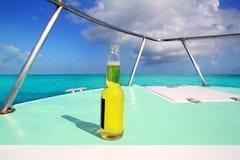 turkos för hav för däck för ölfartygbow karibisk Royaltyfri Bild