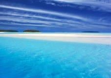turkos för lagun ii Fotografering för Bildbyråer
