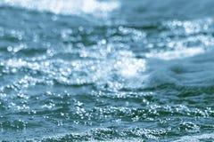 Turkosbakgrund - för aquamateriel för blå gräsplan foto Arkivbilder