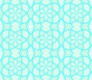 Turkosblått för sömlös ellipsmodell Royaltyfria Bilder