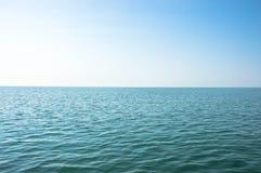 Turkosblått vatten av Black Sea arkivbilder
