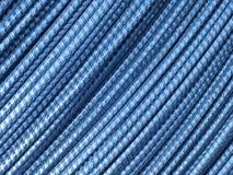 Turkosblåttmetallbakgrund - materielfoto Royaltyfri Foto