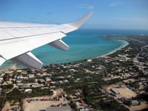 Turks and Caicos, Aerial View Royalty Free Stock Image