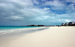 Turks and Caicos beach resort Stock Images
