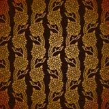 Turks gouden patroon Royalty-vrije Stock Afbeeldingen