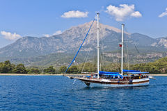 Turks jacht Royalty-vrije Stock Afbeelding