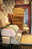 Turks locum en baklavadessert Stock Foto's