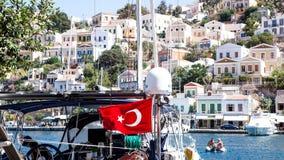Turks Luxeschip royalty-vrije stock afbeelding