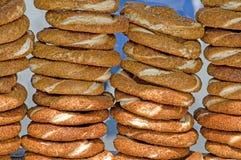 Turks Ongezuurd broodje Stock Foto's