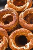Turks Ongezuurd broodje Stock Fotografie