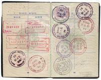 Turks paspoort Royalty-vrije Stock Afbeeldingen