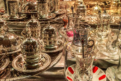 Turks theeglas Royalty-vrije Stock Afbeeldingen