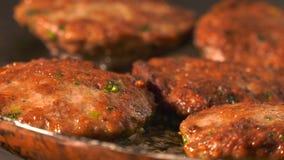 Turks vleesballetjevoedsel stock videobeelden