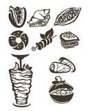 Turks voedsel stock illustratie