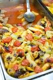 Turks voedsel - de Vleesballetjes van Izmir Stock Foto