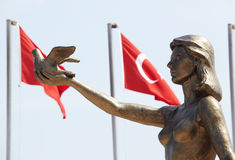 Turks Vredesmonument Stock Afbeeldingen
