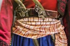 Turks Vuurwapensmateriaal en Eenvormig royalty-vrije stock afbeelding