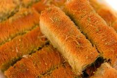 Turkse baklava Royalty-vrije Stock Fotografie