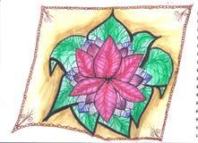 Turkse bloem vector illustratie