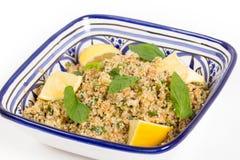 Turkse bulgur salade Royalty-vrije Stock Afbeeldingen