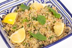 Turkse bulgur salade Stock Foto