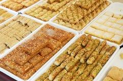 Turkse Cakes Royalty-vrije Stock Foto's