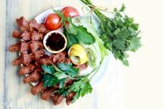 Turkse cigkofte Stock Foto