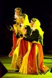 Turkse dansers stock foto's