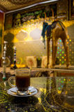 Turkse de cafeïneverrukking Mexico van de Koffiekop Stock Foto