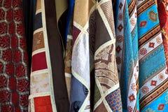 Turkse dekens voor verkoop, Istanboel Royalty-vrije Stock Foto's