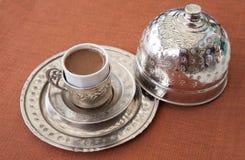 Traditionele Turkse koffie Royalty-vrije Stock Foto's