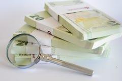Turkse document bankbiljetten Stock Foto
