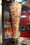 Turkse doner kebab Royalty-vrije Stock Afbeelding