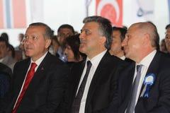 Turkse Eerste minister Stock Fotografie