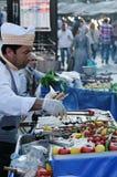 Turkse grill Stock Afbeeldingen