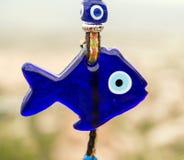 Turkse het oogvissen van het amuletglas Stock Afbeeldingen
