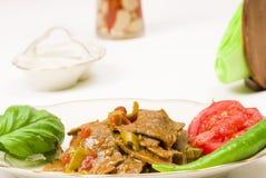 Turkse kebab Royalty-vrije Stock Afbeeldingen