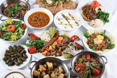 Turkse kebab Stock Foto