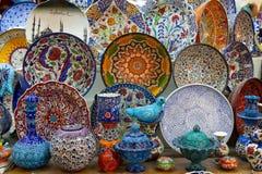 Turkse keramiek Royalty-vrije Stock Afbeeldingen