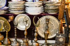 Turkse keramiek royalty-vrije stock fotografie