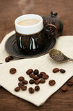 Turkse koffie Royalty-vrije Stock Afbeelding