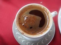 Turkse Koffie in Istanboel Stock Foto