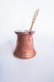 Turkse Koffiepot Royalty-vrije Stock Afbeeldingen