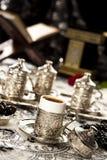Turkse koffiereeks Stock Afbeeldingen